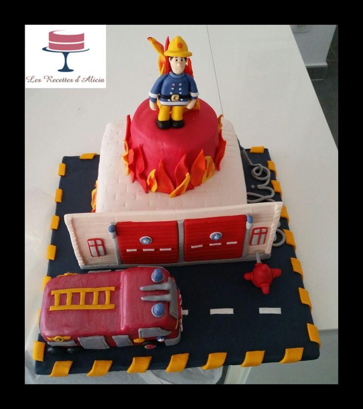 Les 25 Meilleures Id Es De La Cat Gorie G Teau De Sam Le Pompier Sur Pinterest G Teau Camion