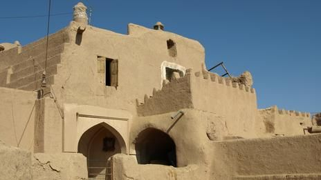 Ateshooni House in Garmeh oasis, 400 years old. Iran