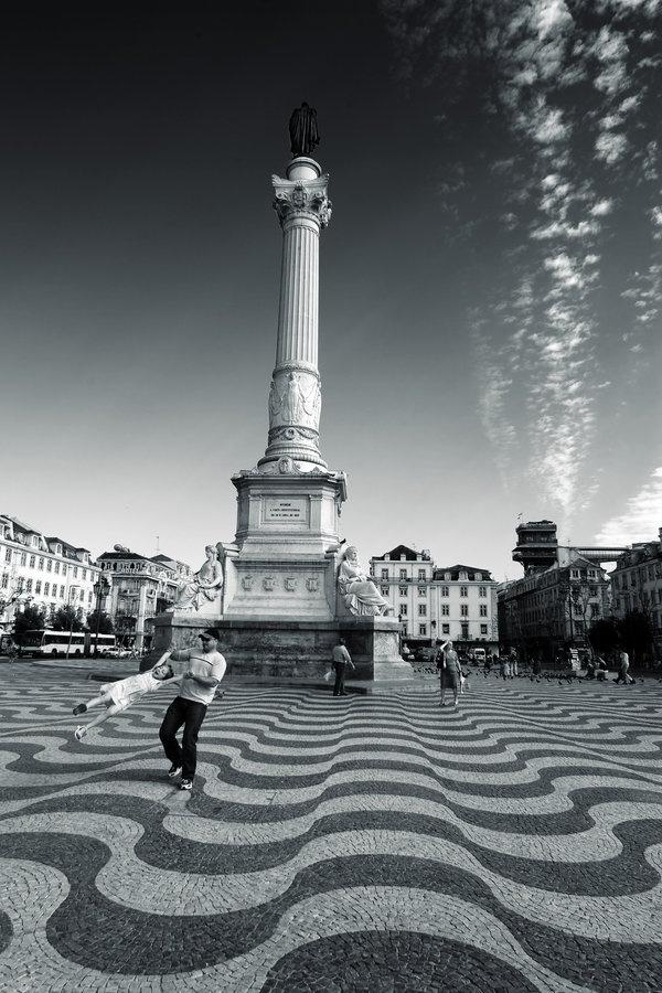 Rossio, stadsdeel Baixa, Lisboa