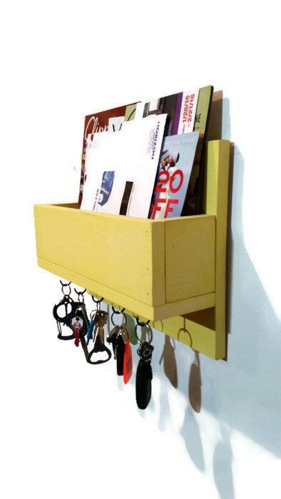 Mail Sort - Mail Holder - Mail Organize Wall - Wall Mail Organize - Key Holder for Wall - Mail Organize - Wall Mount Mail Box - Entryway by RenewedDecorStorage on Etsy https://www.etsy.com/il-en/listing/291139217/mail-sort-mail-holder-mail-organize-wall