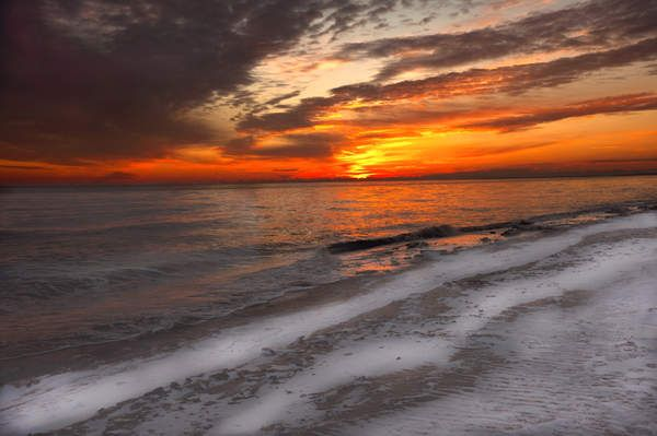 Delaware sunrise in winter