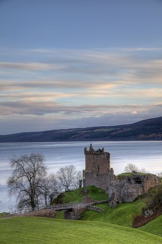 Loch Ness, Scottish Highlands One of the stragest places on earth, equally for both its mythical monster, Nessie, and for the eerie lake hidden away in the Scottish Highlands. Ness, the particular loch itself is 755-feet deep at its greatest and 21.8 square-miles wide. Unlike most lochs, this massive water body makes you wonder what could possibly be lurking in the depths.