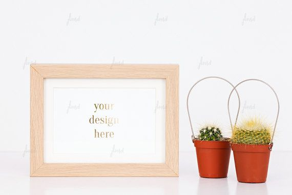 Styled Stock Photography  Brown Styled Frame  by JustLikeMyDesktop
