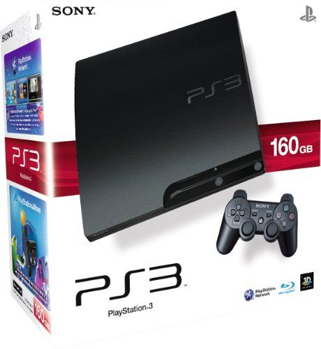 Sony PlayStation 3 160GB Slim Console with DualShock Wireless Controller - http://www.cheaptohome.co.uk/sony-playstation-3-160gb-slim-console-with-dualshock-wireless-controller/  Sony PlayStation 3 160GB Slim Console with DualShock Wireless Controller Short Description Sony Playstation3 160GB Slim Console Sony PlayStation 3 160GB Slim Console with DualShock Wireless Controller Key Features  160GB Slim  List Price: £199.99 Price: £229.25