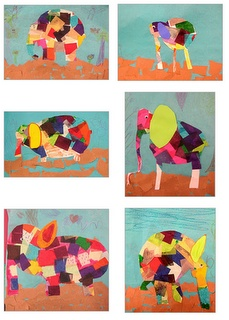 Experiments in Art Education: Elmer's Day Parade