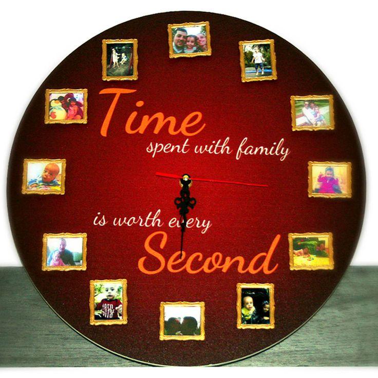 Time spent with family is worth every second! Un cadou util, durabil si incarcat cu sentimente frumoase. Pentru tine, pentru prieteni, familie sau ocazii speciale.  Termen de livrare: 24-48 ore de la comanda.