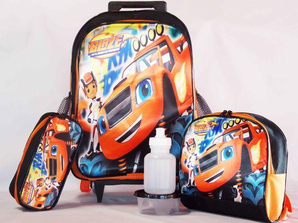 1bac4baf6 Kit Mochila Blaze De Rodinhas + Brinde | mochilas | Backpacks e Bags