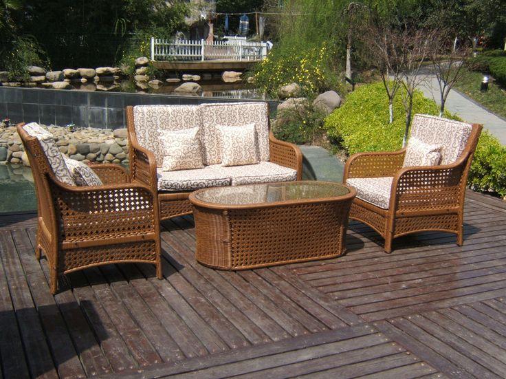 resin wicker furniture outdoor living