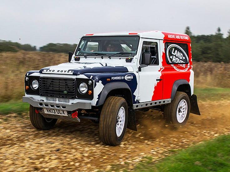 cahteknoz.com - 2014 Land Rover Defender Challenge concept