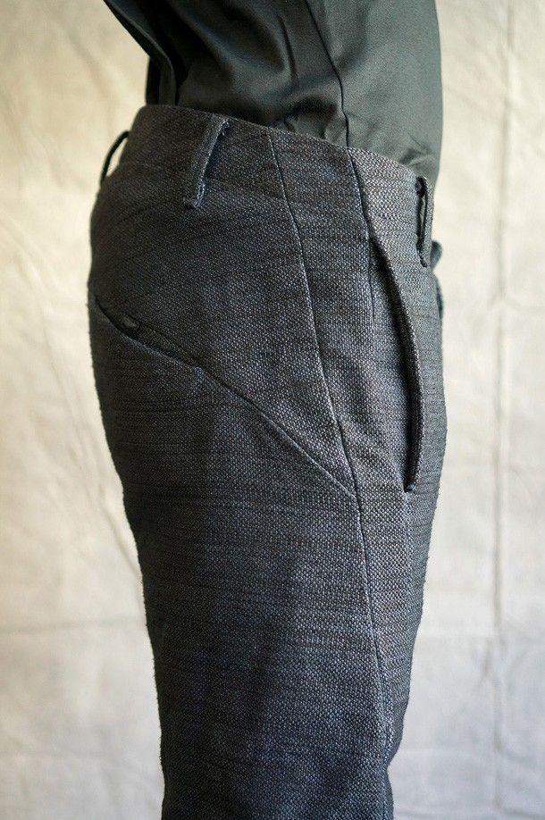 Minimalist DNA Pants - Cotton - Grey