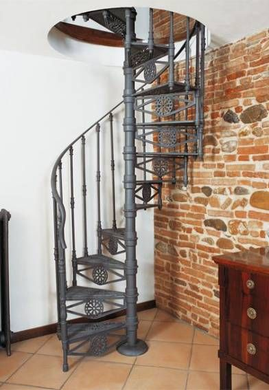 Best 19 Ideas Spiral Stairs Remodel Wrought Iron For 2019 640 x 480