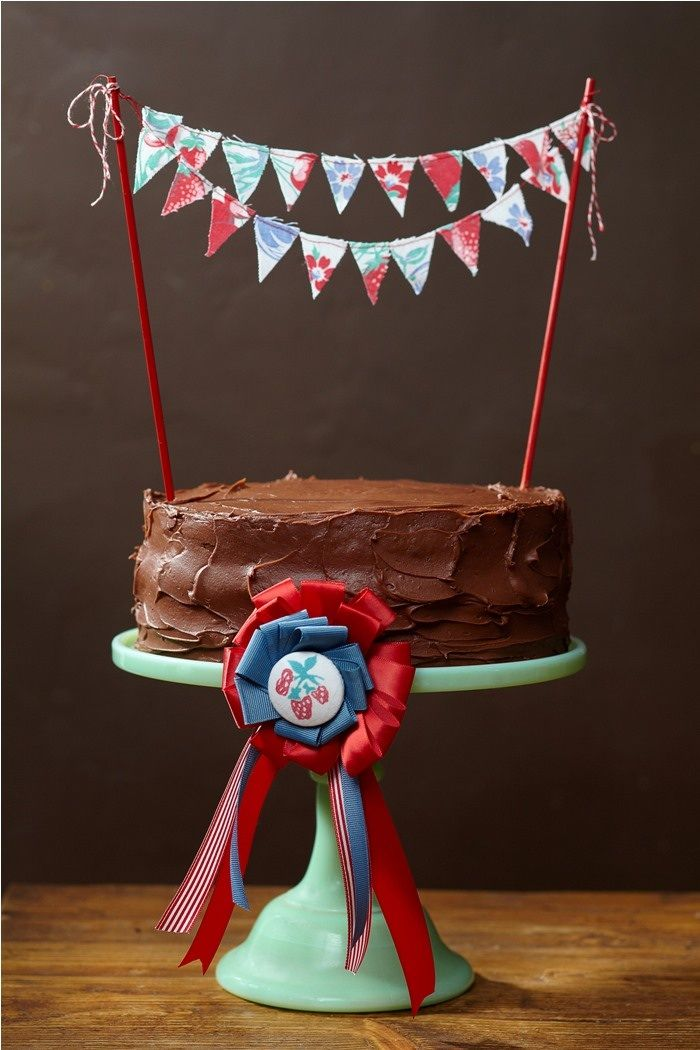 country fair cake bunting