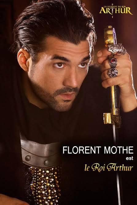 FLORENT MOTHE interprète Le Roi Arthur  Photo : Nathalie Robin