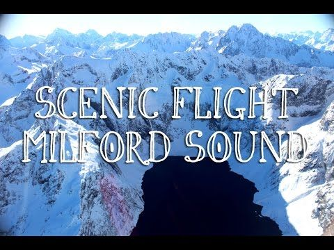 The flight from Milford Sound to Queenstown. - YouTube