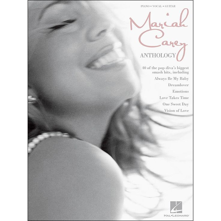 All Music Chords one sweet day sheet music : Hal Leonard Mariah Carey Anthology arranged for piano, vocal, and ...