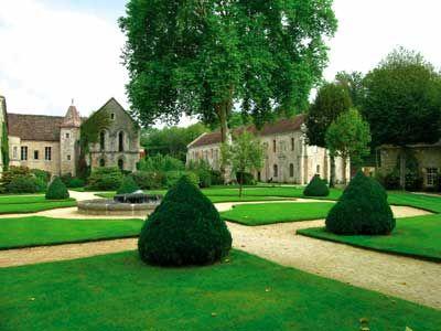 Jardins de l'Abbaye de Fontenay - Marmagne (21500) - Côte-d'Or - Bourgogne - France