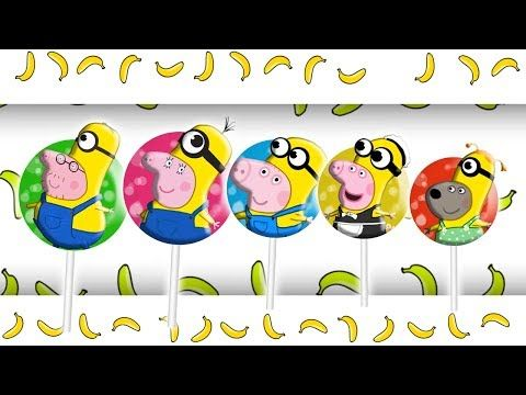 Peppa Pig Minions Lollipop Finger Family | Nursery Rhymes and More Lyrics - RoRo Fun Channel Youtube  #Masha   #bear   #Peppa   #Peppapig   #Cry   #GardenKids   #PJ  Masks  #Catboy   #Gekko   #Owlette   #Lollipops  #MashaAndTheBear  Make sure you SUBSCRIBE Now For More Videos Updates:  https://goo.gl/tqfFEb Have Fun with made  by RoRo Fun Chanel. More    HOT CLIP: Masha And The Bear with PJ Masks Catboy Gekko Owlette Cries When Given An Injection  https://www.youtube.com/watch?v=KVEK6Qtqo9M…