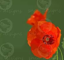 Poppy | rememberance | snewdesigns | Digital