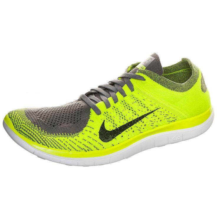 Free Flyknit 4.0 Laufschuh Herren    Der Nike Free 4.0 Damen Laufschuh ist flexibler als der 5.0 und besitzt mehr Dämpfung als der 3.0. Er ermöglicht ein natürliches Laufgefühl mit einem leichten, stützenden Flyknit-Obermaterial und eine hochflexible, flache Außensohle.    Details:  Die Ferse ist der Fußform nachempfunden und unterstützt das natürlichere Abrollverhalten / Befestigte Nike Flykni...