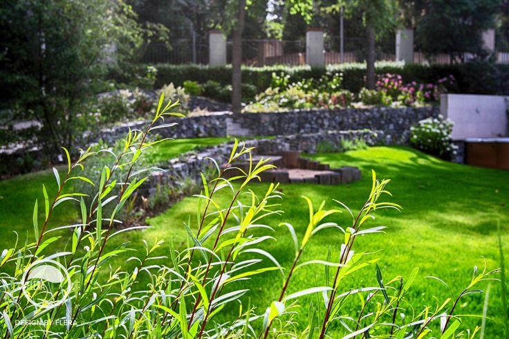 #landcape #architecture #garden #stairs #rockery #sandpit #lawn