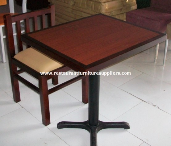 Restaurant Table And Chair T02136