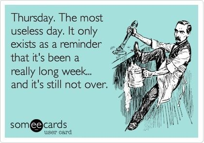 Even though they are usually my Friday's I still despise them..mostly bc I have to work :)