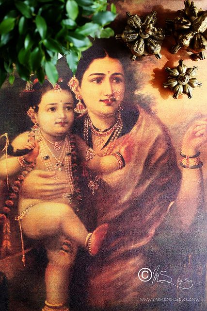 Lord Krishna with mother Yashoda | Lord Krishna with mother … | Flickr