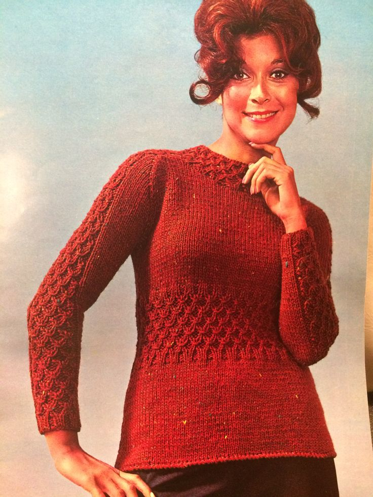 1971 knit & crochet book by Spinnerin volume 207 TopFlight a touch of Tweed