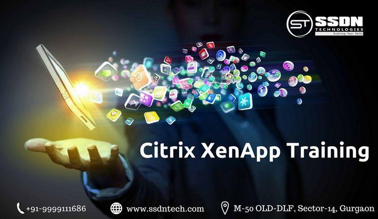 SSDN Technologies is an IT training company providing Citrix Xen/App Administratortraining in Delhi, India. https://goo.gl/TvTxaw