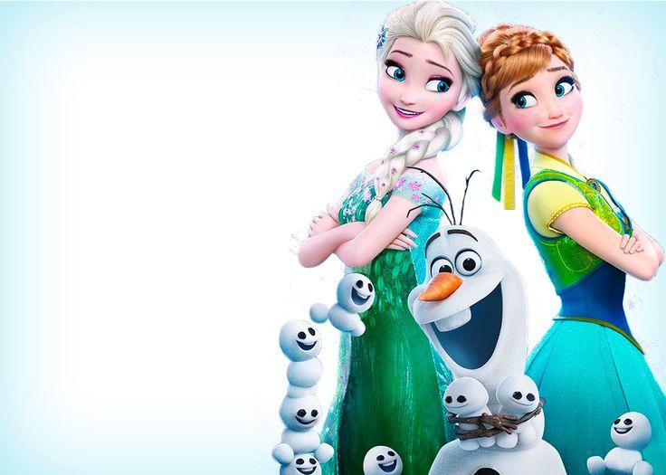 Convite Frozen Febre Congelante 7
