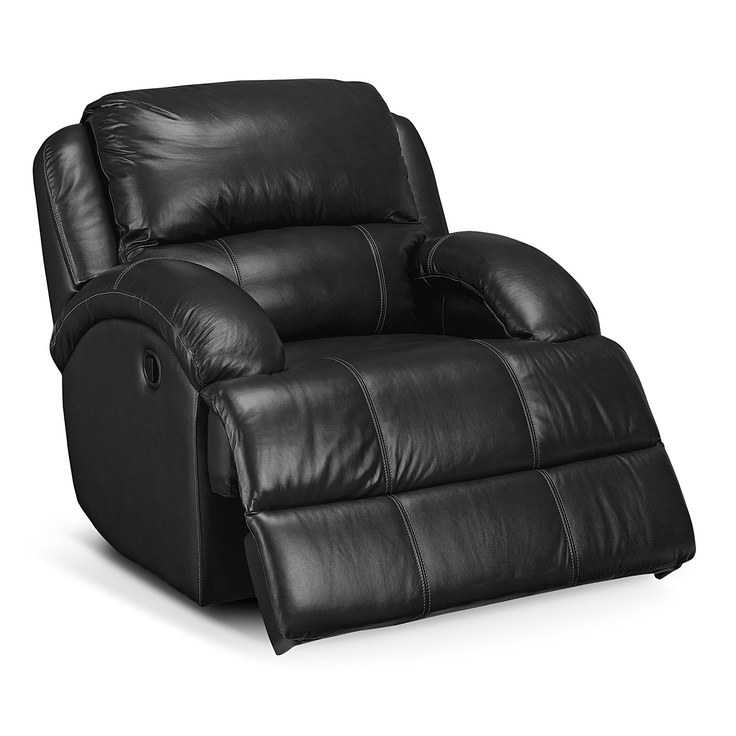 Vcf recliner open nolan ii leather glider recliner value city furniture