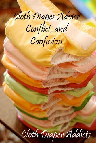 Cloth Diaper Advice, Confusion, and Conflict - Cloth Diaper Addicts