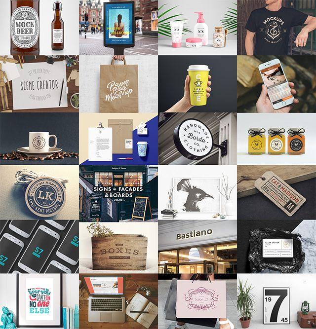 Mejores 53 imágenes de Mock-Ups Templates / Plantillas en Pinterest ...