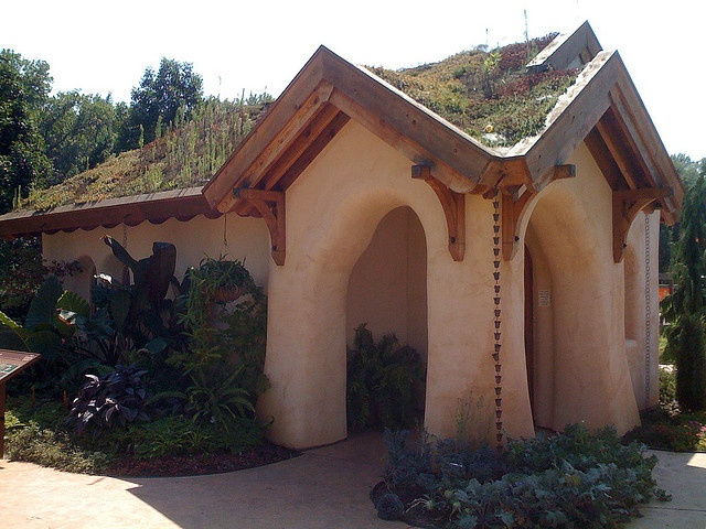 Cob Construction Living Roof This Steep Roof Would Work