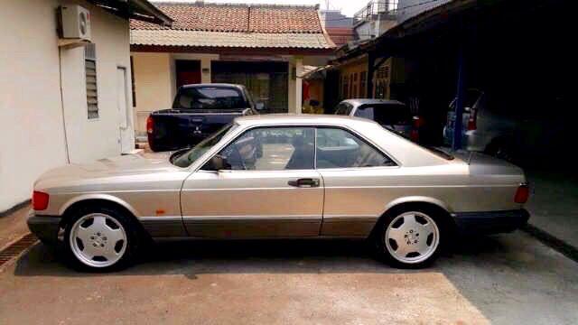 "1987 W126 ""Eagle Coupe"" 420SEC  Visit on audinwest.blogspot.com"