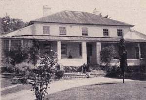 Atherfield House - then and now