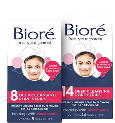 deep cleansing pore strips