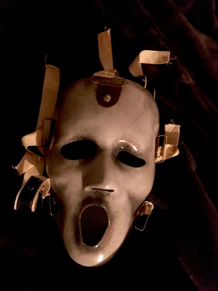 Scream TV series mask
