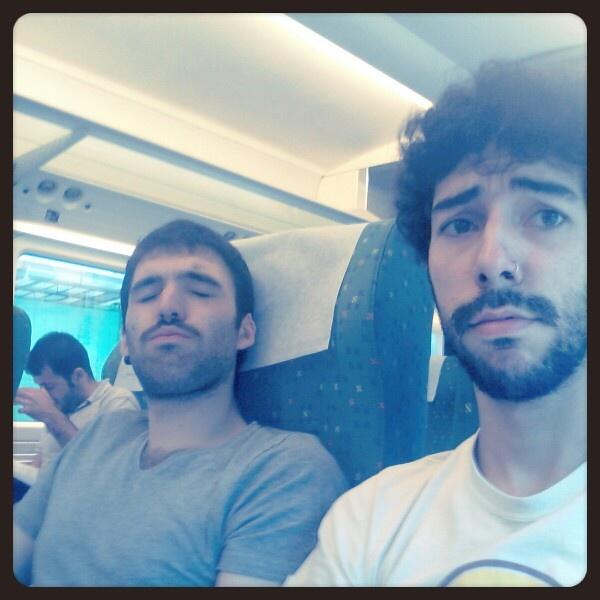 Se hace largo el viaje a Madrid