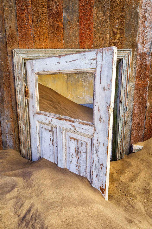 Namibie:+Une+ville+fantôme+dans+le+désert