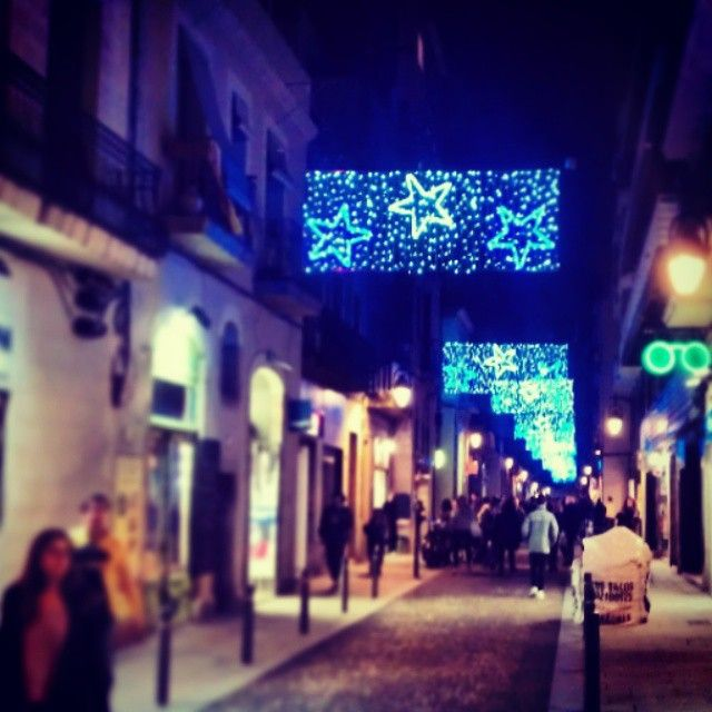 Blue Christmas in Grácia #barcelona