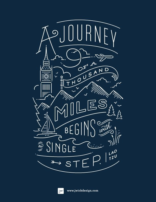 A journey of a thousand miles begins with single step