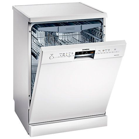 Which? hasn't reviewed this particular model but based on their reviews of other Siemens dishwashers they are confident it would be a quality dishwasher... Buy Siemens SN25M280GB Dishwasher, White Online at johnlewis.com