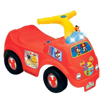 Disney's Mickey Mouse Clubhouse Ride-on Fire Engine
