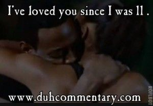 Love and Basketball ~ favorite movie of all time!