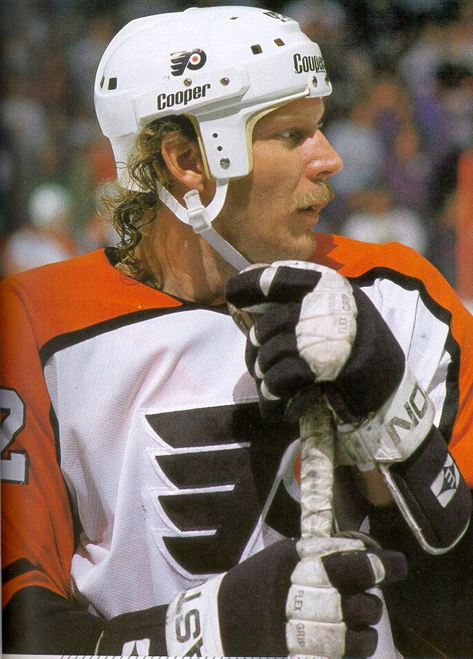 Hockey (LNH , NHL): Player of the day : Tim Kerr #player #day #hockey #rightwing