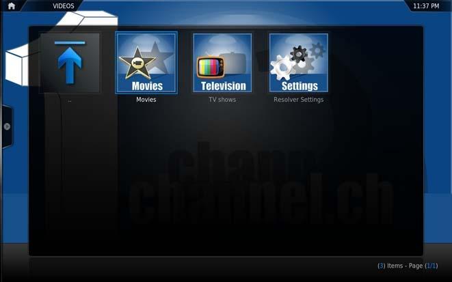 1Channel addon for XBMC