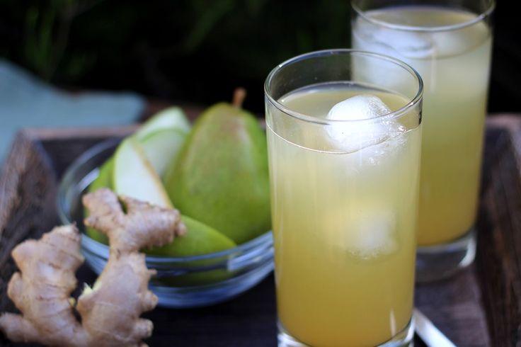 La boisson poire-gingembre : Nettoyant étonnant qui élimine les toxines - Santé Nutrition