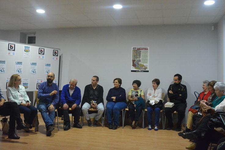 Encuentro con Óscar Esquivias en Montijo - Octubre de 2015