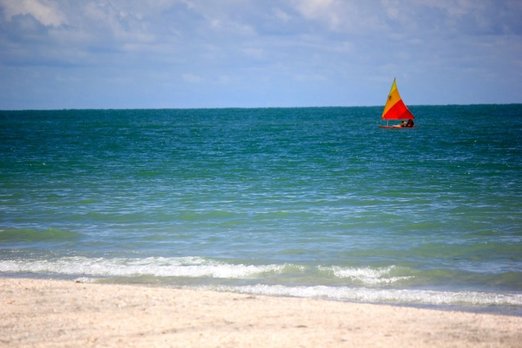 Views of the Gulf of Mexico from Sanibel Captiva Island